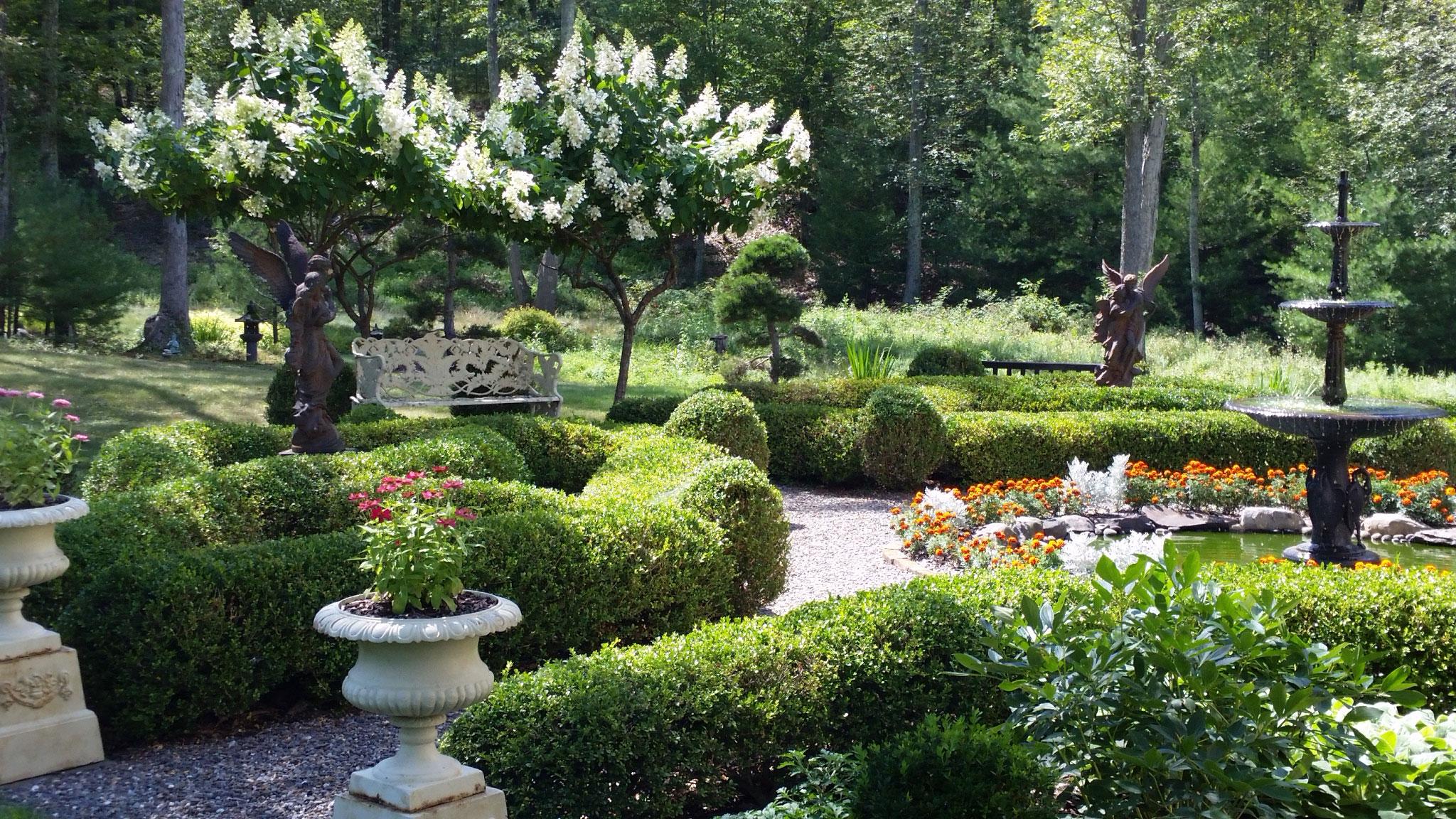 Landscape Design Landscape Garden Design In Stone